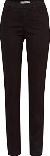 BRAX Damen Style.Mary Style Mary Five-Pocket-Hose in winterlicher Qualität Slim Fit, Schwarz (Black 2), 36 Lang