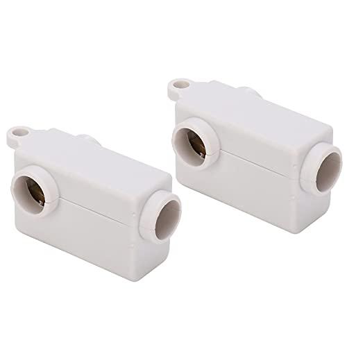 Divisor de caja de terminales de cable, caja de conector de empalme en línea profesional estable para conector industrial para industria para empalme eléctrico de alambre para el hogar