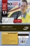 PACK AHORRO BÁSICO. Celador-Conductor. Servicio Andaluz de Salud (SAS). (Incluye Temario y test común, Temario y test específico + Curso BÁSICO online)