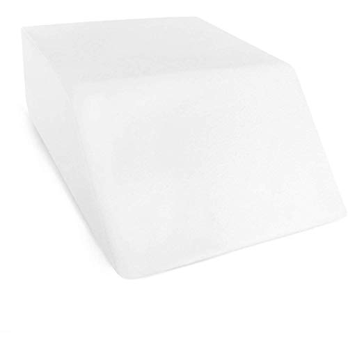 Restorology Elevating Foam Leg Rest Pillow - Wedge Pillow - Reduces Back Pain and Improves...
