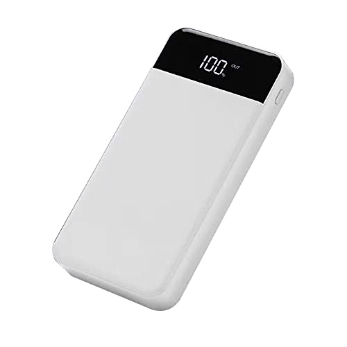 rongshengxinye Batería externa para Apple iPhone 6, 7, 8 Plus, 20000 mAh, batería externa de alta capacidad, para iPhone 6, 7, 8 Plus, X Samsung Xiaomi (color para Android tipo-C)