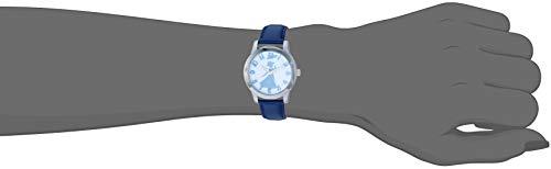 Disney Women's Mary Poppins' Quartz Metal Watch, Color:Blue (Model: WDS000637