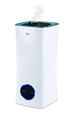 SUNTEC Ultraschall Luftbefeuchter Monsun 2500 moodlight   Aroma Diffuser mit 2 l Wasser Tank   Raumbefeuchter bis ca 25 m2   Vernebler mit 3 Nebelstufen, Auto Off und LED Beleuchtung   besonders leise