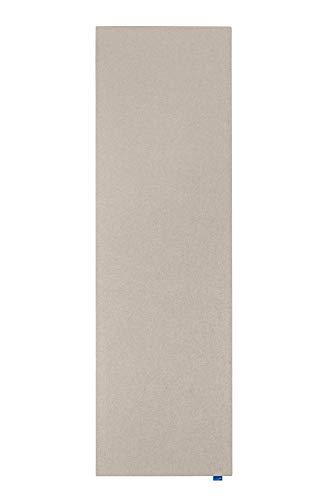Legamaster 7-144226 Wall-Up Akustik-Pinboard, schalldämpfende XL-Pinnfläche, Textil, soft beige, 59,5 x 200 cm (Hochformat)
