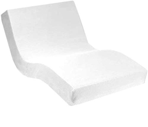 Dormabell Premium Spannbetttuch, extra hoch (für Matratzen 25-35cm) speziell für Boxspring- oder Wasserbett entwickelt, elastisch | Blickdicht | bügelfrei | langlebig (weiß, 180 x 200 cm)