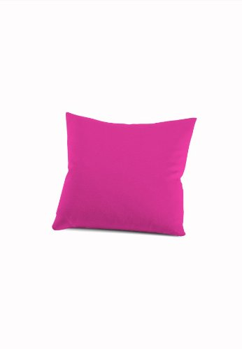 schlafgut 033-576 Mako Jersey Kissenbezug / 40 x 40 cm, pink