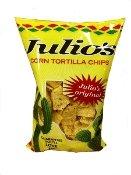Julio's Corn Tortilla Chips - 9 Oz (Pack of 3)
