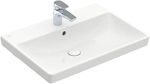 V&B Waschtisch AVENTO 650x470mm, mit Überlauf weiß