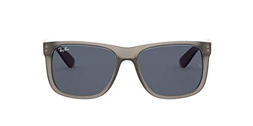 Ray-Ban 0RB4165 Gafas, Rubber Transparent Grey, 51 Unisex
