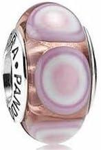 Pandora rosa piedra cristal de Murano Charm nº 790911