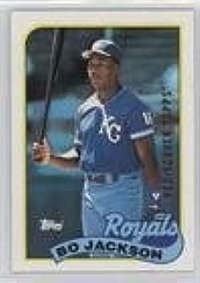 Bo Jackson (Baseball Card) 2017 Topps - Rediscover Topps Buybacks - Bronze #1989-540