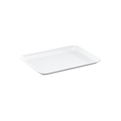 WACA® 1308-710 Auslageplatte Präsentationsplatte 27x21x1,7 cm weiß