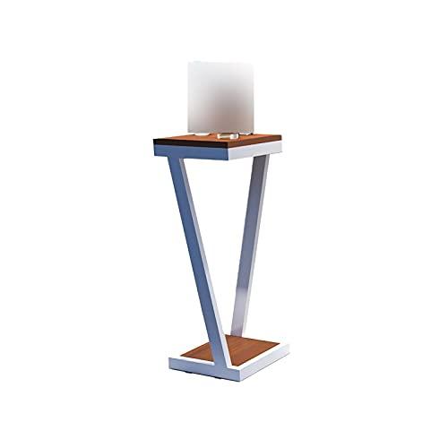 DAGCOT Soporte de exhibición de Mesa de Venta al por Menor con estantes para Productos, Perchero de exhibición de Elevador Blanco portátil para encimera, mercancías de Manualidades (Size : Medium)