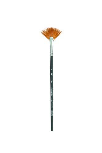 Princeton Aqua Elite, Series 4850, Synthetic Kolinsky Watercolor Paint Brush,Fan, 4
