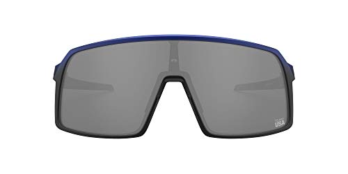 Oakley Men's OO9406 Sutro Sunglasses Rectangular Sunglasses blue Size: 137 mm