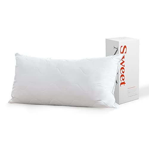 Sweetnight Kopfkissen 40x80 Kissen für Seitenschläfer Allergiker geeignet Waschbar