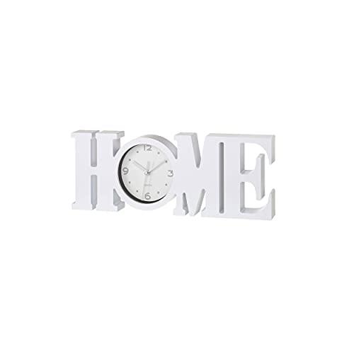 Reloj Modelo Home, Decoración Hogar - Blanco