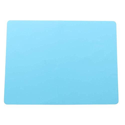 Mantel individual para hornear mejor silicona Horno de calor Coaster bandeja para hornear niños manteles individuales accesorios de cocina azul profundo JXNB
