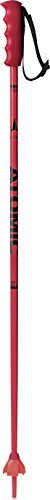 Atomic Kinder Redster JR 1 Paar Skistöcke, Rot/Schwarz, 80 cm