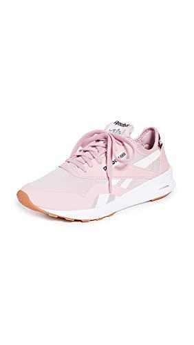 Reebok Women's Classic Nylon SP Sneakers, Classic Pink/White/Gum, 8.5 Medium US