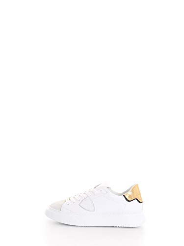 Philippe Model Sneaker Donna cod.BTLD White - Gold Size:40