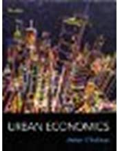 Urban Economics by O'Sullivan, Arthur [McGraw-Hill/Irwin,2011] [Hardcover] 8TH EDITION