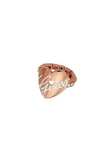 Guess UBR11103 - Anillo para mujer, color oro rosa