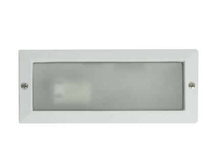 FARO BARCELONA 71490 - Liso Empotrable, 40W, Aluminio y difusor translucido, Color Blanco (Bombilla no incluida)
