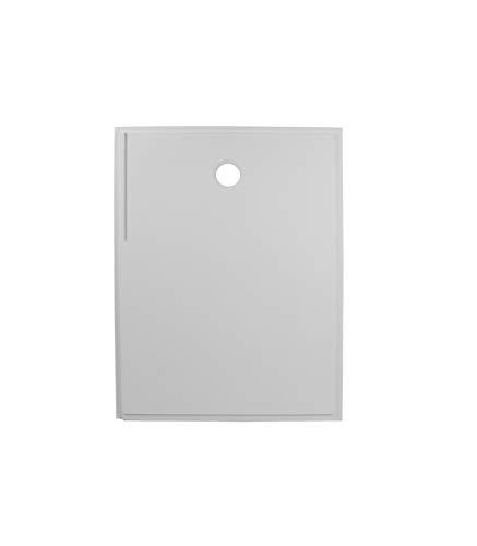 Porcelanosa - Plato De Ducha Rectangular De Resina Antideslizante - Izquierda - 120 x 89,5 x 4 cm