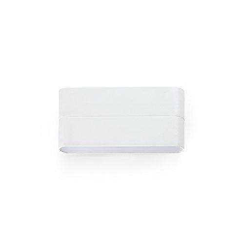 Faro Barcelona 70646 - ADAY Aplique (bombilla incluida) LED, 12W, aluminio inyectado y difusor de policarbonato opal, color blanco
