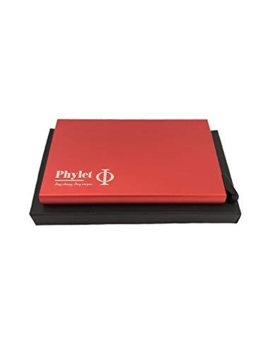 Produkt: Multifunctional Cardholder | Model: GER | Marke: Phylet | Beschreibung: Verblüffend moderner Kartenhalter | sehr schmal | durchdachte Technik auswählbare Farben (Rot)