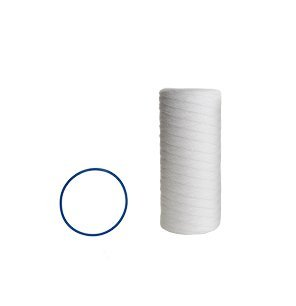 CFS COMPLETE FILTRATION SERVICES EST.2006 Compatible for Pelican Water Replacement 10 in. Sediment Filter & O-Ring