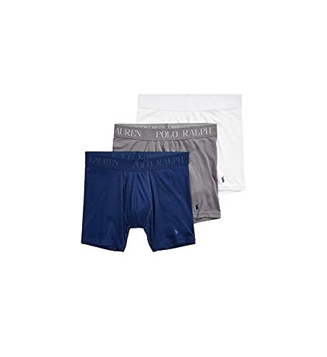 Polo Ralph Lauren Boxershorts, 4D-Flex, Baumwolle, Modal, Stretch, 3er-Pack - - Large