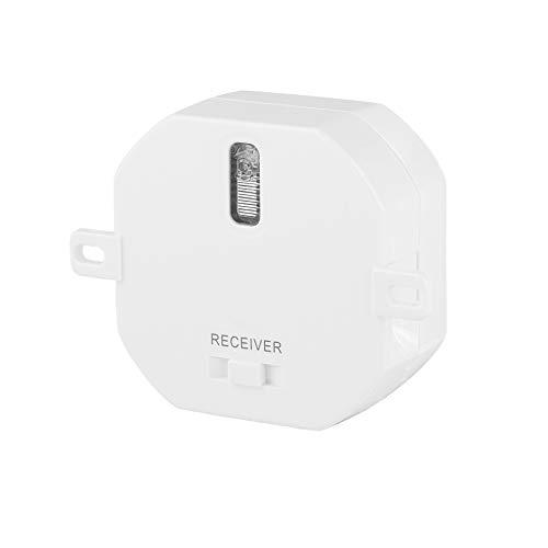 Smartwares SH5-RBS-10A Receptor para Interior con Interruptor Incorporado, 1000 W, Blanco