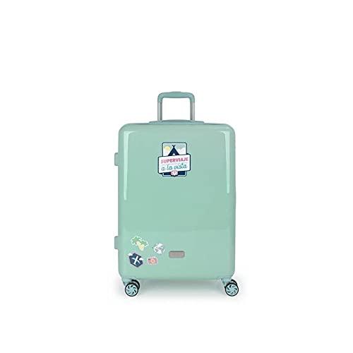 GABOL Maleta M, Adultos Unisex, Azul (Azul), Talla Única
