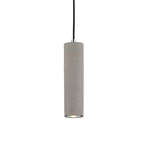 Retro Industrielle Pendelleuchte Zement Hängeleuchte Warms Licht LED Deckenleuchte Runde Strahler Zimmer Beleuchtung Einfach Leuchte für Flur Aisle Wohnzimmer Esszimmer Schlafzimmer Bar Loft, L7*H25cm