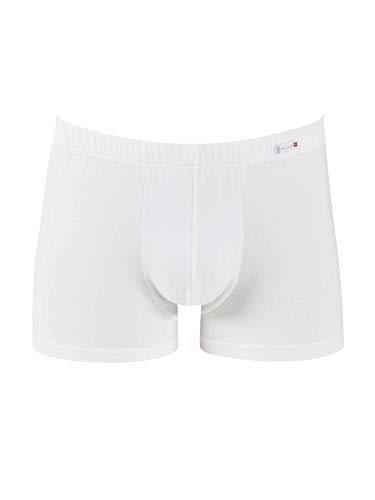 Calida Herren Evolution New Boxer shorts Boxershorts, Weiß, 52-54