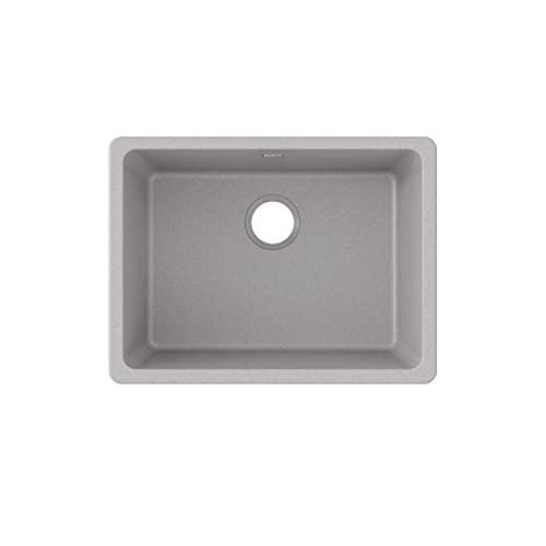 Elkay Quartz Classic Single Bowl Greystone Undermount Composite sink