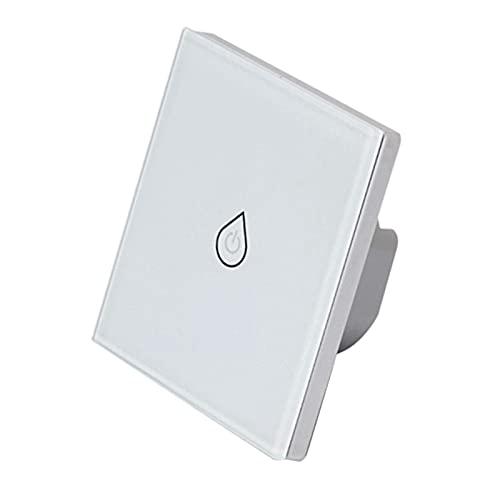 Dcolor Interruptor de Caldera Wi-Fi, Interruptores de CalefaccióN Control Remoto por Voz Temporizador de Panel de Prensa Trabajo Al Aire Libre para Alexa Enchufe de la UE