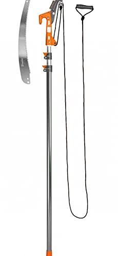 Dokado Profi Astsäge mit Teleskoparm Baumschere ausziehbar Astschere Seilzug Baumsäge