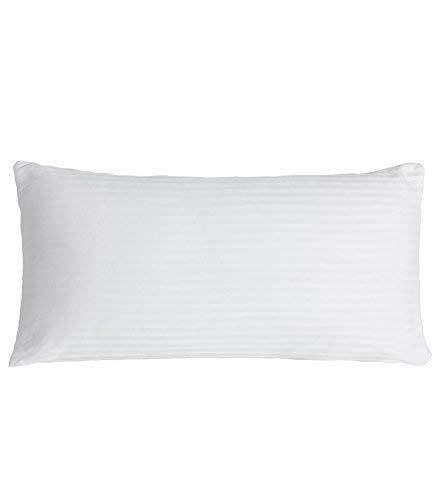 Belnou Confort Almohada, Algodón, Blanco, 120x45x17 cm