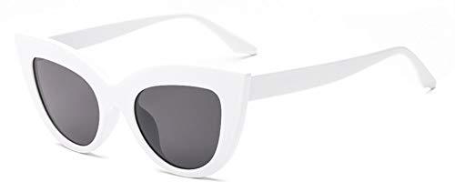 Lady Cat Eye Gafas De Sol Retro Moda Protección Uv Conducción Fiesta Deporte Viaje Joven Blanco