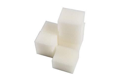 LTWHOME Compatible en Mousse Filtration Convient pour Fluval Bord Filtres (Paquet de 6)