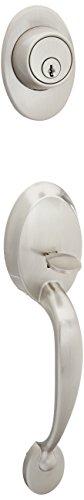 Hardware House Kitchen Faucet LLC #149587 Jemison Handleset with Princeton Lever, Satin Nickel