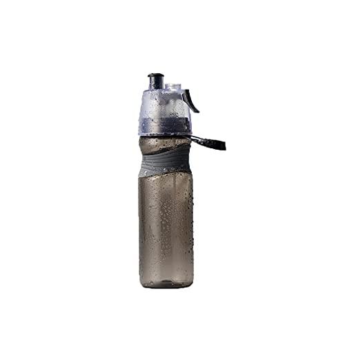 Jituan Copa de agua Spray Copa de plástico Copa espacial Copa de gran capacidad Simple Copa de plástico Niños Taza de agua moderna creativa al aire libre Deportes botella (580 ml)