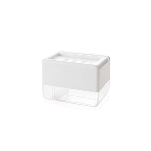 Toiletten zonder muurstickers, toiletbrillendoosjes, prikvrije toiletpapierdozen, toiletpottenrollen, vuilnisbakken Modern design size Kleur: wit
