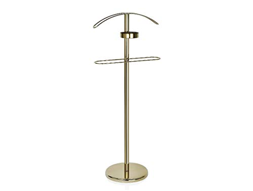 Herrendiener, Design aus Metall gold