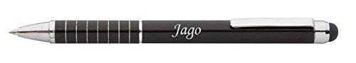 Bolígrafo pantalla táctil Jago nombre pila/apellido/apodo