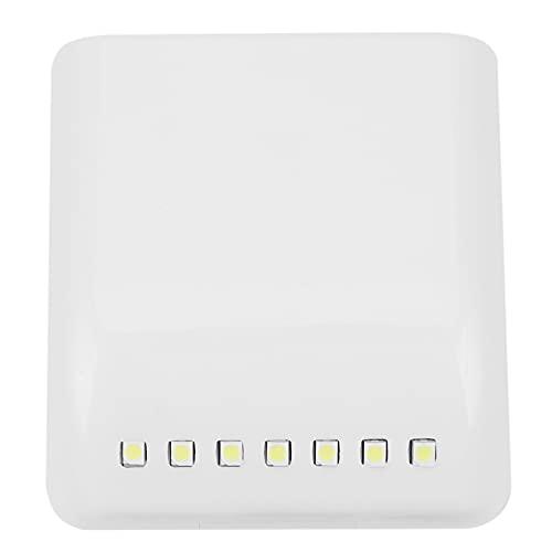 Luntus 1 unids/set 7 LED Lampara de Sensor de Induccion Universal Gabinete Armario Armario Bisagra Armario Iluminacion Nocturna Luz Cocina Dormitorio Sala de estar