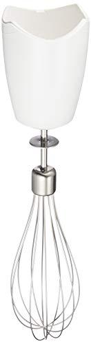 Braun Minipimer MQ10 WH - Accesorio varilla, acero inoxidable, apto lavavajillas, color blanco